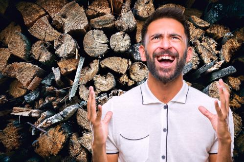 薪が欲しいあまりに心がすさんでいく人